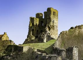 An image of Scarborough Castle - Photograph by Richard Burdon