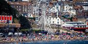 image of Scarborough South Bay beach and big wheel