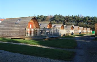 Grouse Hill Caravan and Camping Park Wigwams