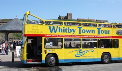 Open Top Whitby Town Guided Tour Bus